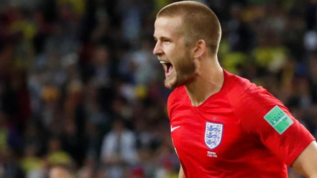 God save Dier! Inglaterra faz história no Mundial e está nos 'quartos'