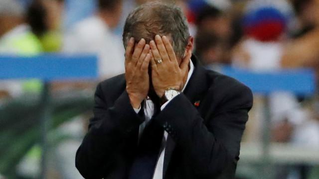Menino russo também chorou pelo adeus de Portugal ao Mundial