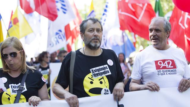 """Mário Nogueira avisa Governo: """"Cá se fazem, cá se pagam"""""""