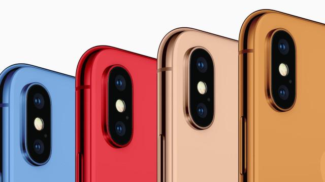 Um dos iPhones deste ano não terá falta de cores para escolher