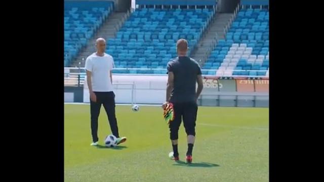 Zidane 'desafiou' Beckham e foi este o resultado...