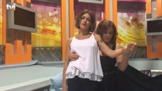 Fátima Lopes foi hipnotizada durante intervalo de programa