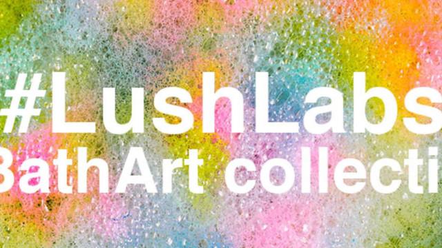 LUSH lança a coleção Bath Art, uma verdadeira obra de arte na banheira