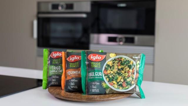 Veggie Bowls da Iglo para um estilo de vida saudável
