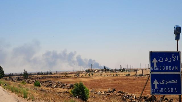 Damasco recupera posto fronteiriço há três anos nas mãos dos rebeldes