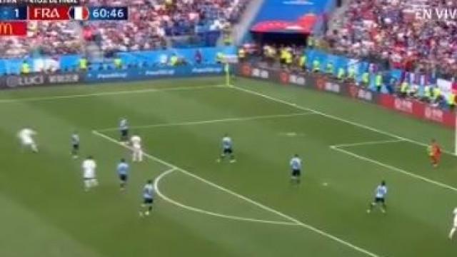 'Frango' de outro mundo dá segundo de França frente ao Uruguai
