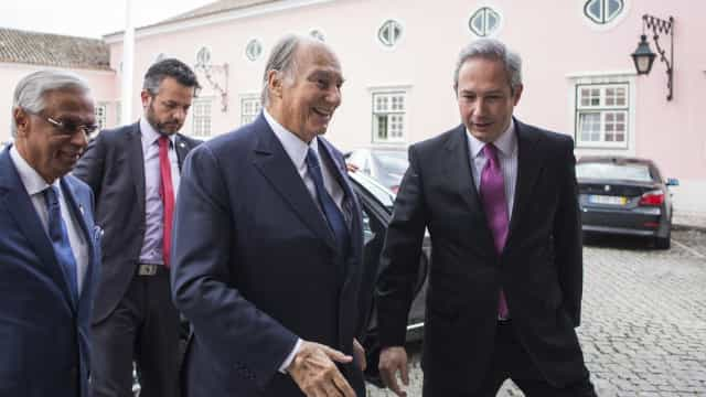 Aga Khan, o príncipe do mundo que escolheu Portugal