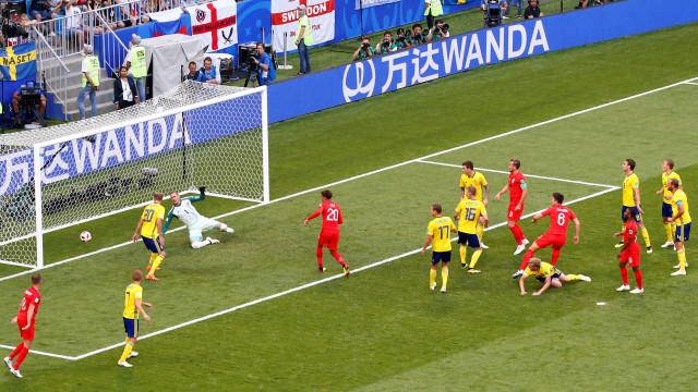 [0-2] Suécia-Inglaterra: Suecos perto de reduzir. Valeu 'Sir Pickford'