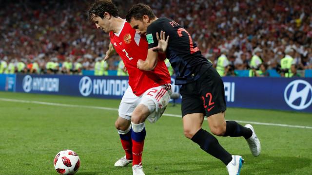 [2-2] Rússia-Croácia: Decisão adiada para as grandes penalidades