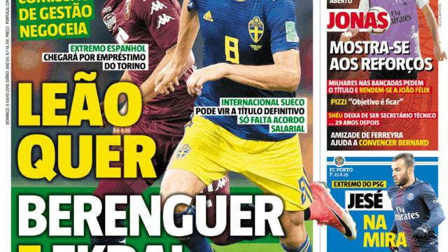 """Benfica recebe """"injeção de confiança"""" e os rivais à espera de reforços"""