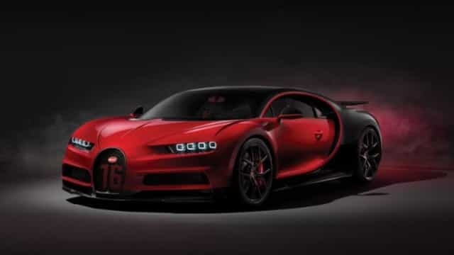 Bugatti Chiron vai custar cinco milhões de euros