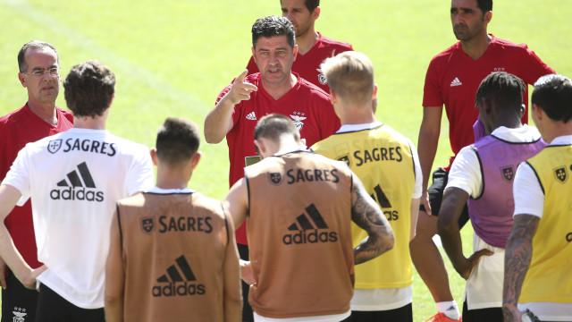 Baixa de peso no último treino antes da receção ao Bayern