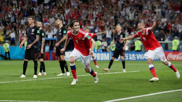Jogadores da Rússia terão 'snifado' amoníaco em jogos do Mundial