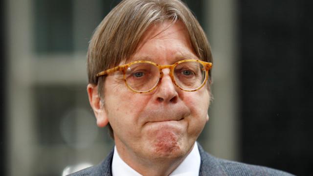 """""""É o melhor acordo que podíamos alcançar"""", afirma Guy Verhofstad"""