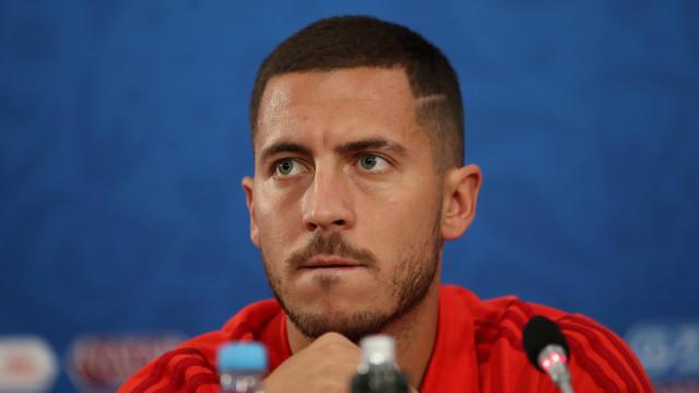 Hazard faz revelção curiosa sobre vídeos de Mbappé