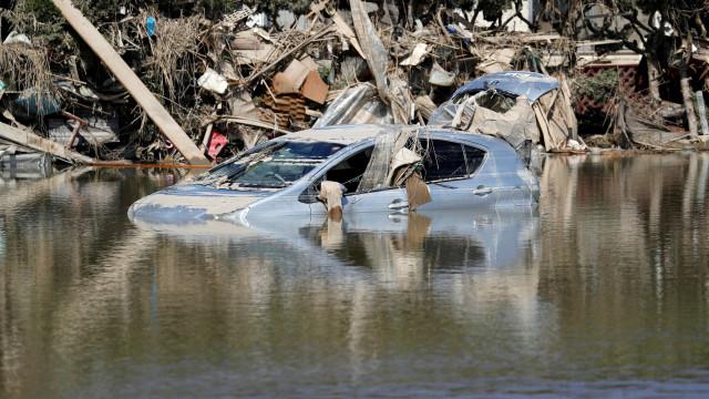 Sobe para 122 o número de mortes provocadas pela chuva no Japão