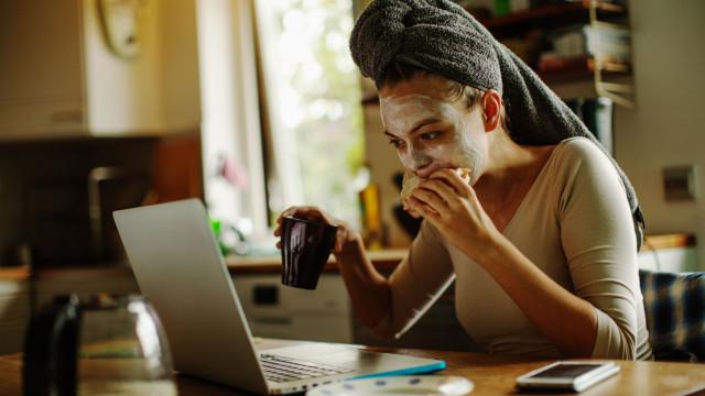 Será que trabalhar remotamente a partir de casa faz mal?