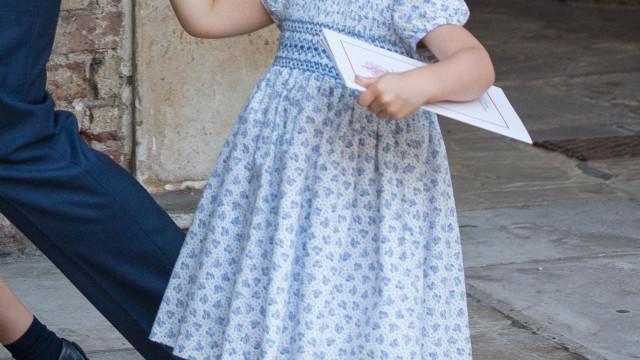 Princesa Charlotte volta a destacar-se e faz comentário caricato