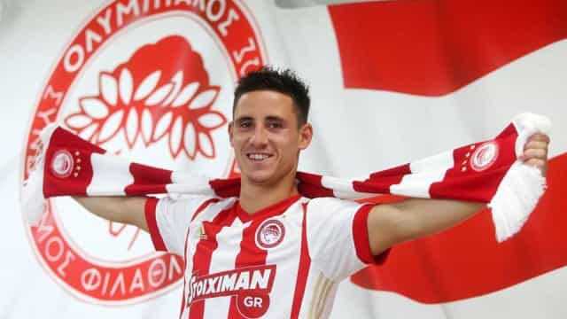 Podence decisivo no passaporte do Olympiakos para o play-off