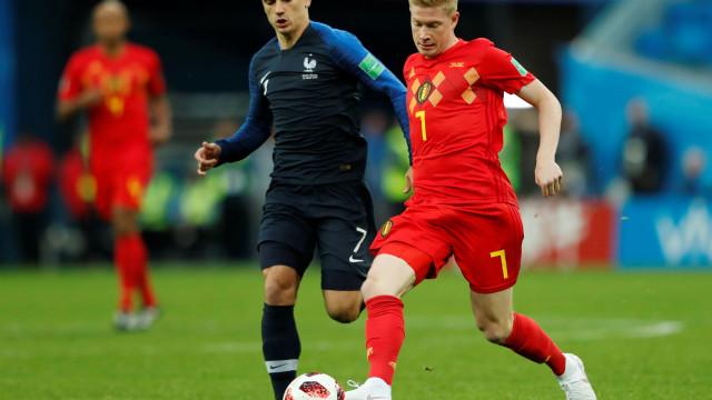 [0-0] França-Bélgica: Lloris faz defesa monstruosa e evita o golo belga