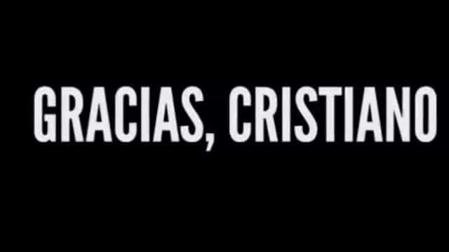 """Gracias, Cristiano"". O vídeo de despedida do Real Madrid"