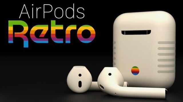 Já viu os AirPods nostálgicos da Apple?