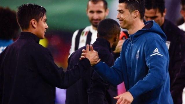 Dybala dá as boas-vindas a Cristiano Ronaldo