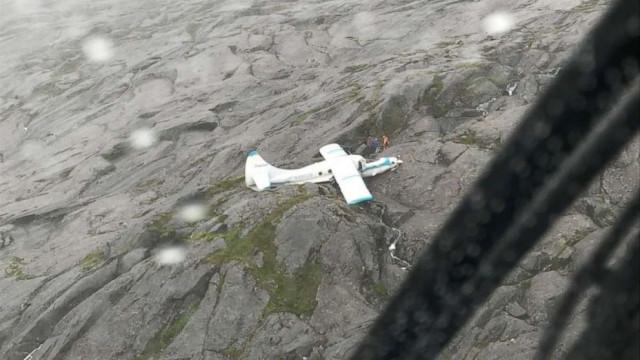 Avião caiu no Alasca, mas todos os passageiros sobreviveram