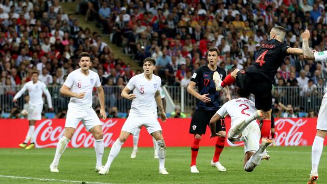 [1-1] Croácia-Inglaterra: Lingard a centímetros do golo