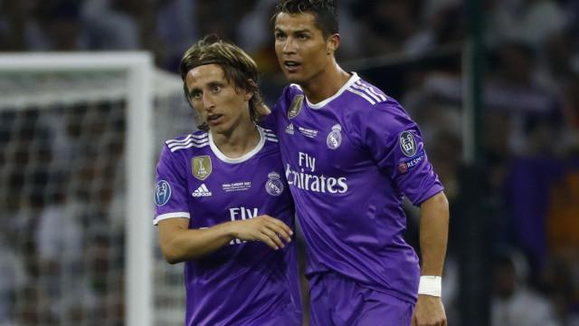 O desejo de Modric que Ronaldo não concretizou