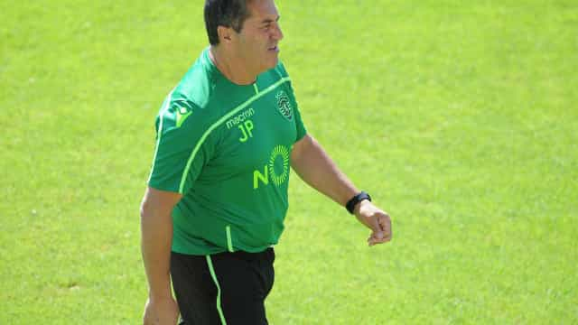 José Peseiro contou com uma boa notícia no treino desta segunda-feira
