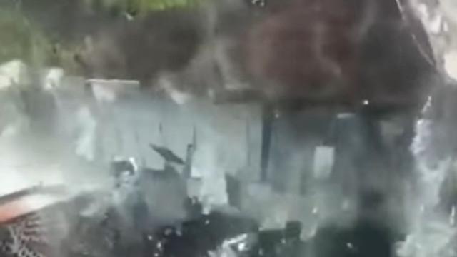 Centro comercial inaugurado há meses colapsou parcialmente no México