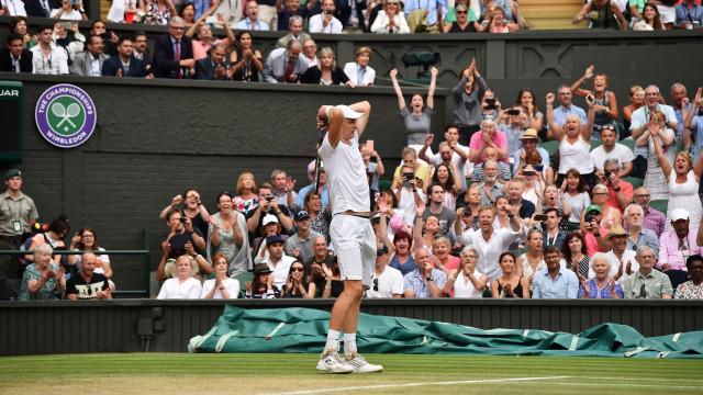 Histórico: Anderson está na final de Wimbledon após epopeia de 6h35