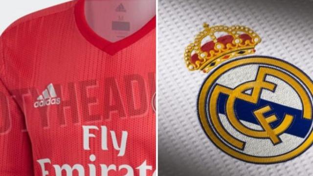 Terceiro equipamento do Real Madrid apresenta símbolo... sem coroa