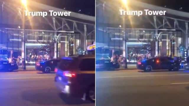 Trump Tower evacuada no Canadá. Dezenas de polícias no local