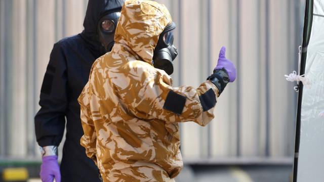 Polícia procura outras possíveis fontes de contaminação por Novichok