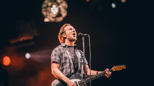 Pearl Jam renovaram no Alive votos de relação que começou há 22 anos