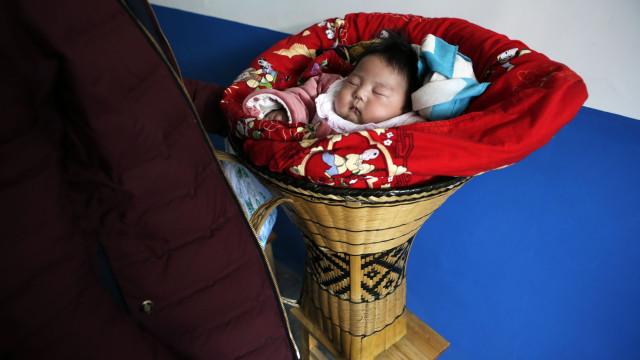Número de nascimentos na China diminuiu 3,2%