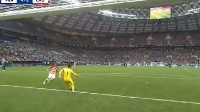 Erro grosseiro de Lloris permitiu sonho da remontada croata