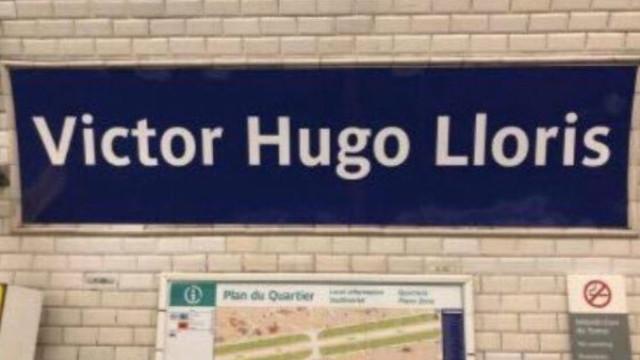 Metro francês rebatiza seis estações em homenagem aos campeões