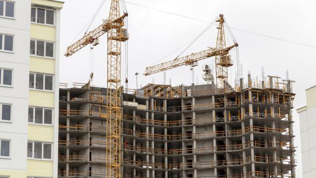 Edifícios licenciados aumentaram 16,3% e concluídos cresceram 12,3%