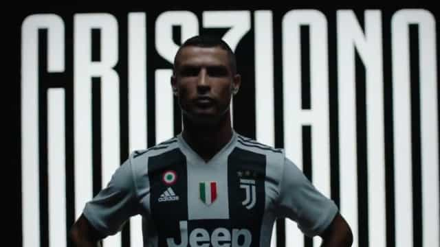 """""""Eu estou aqui"""". O vídeo de Ronaldo com a camisola da Juventus"""