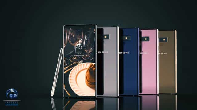Vídeo mostra-lhe o Galaxy Note 9 'inspirado' por rumores