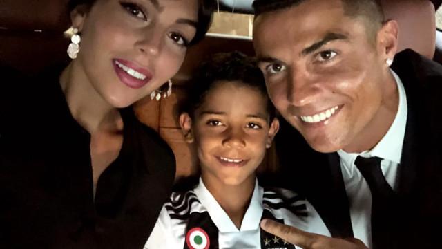 Filho de Cristiano Ronaldo segue pisadas do pai... em Turim