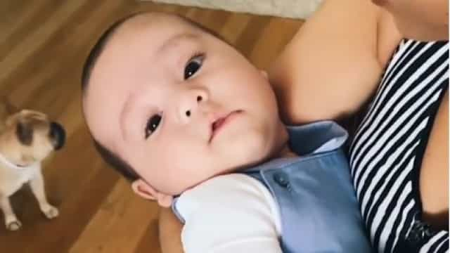 Vídeo ternurento: Mia Rose embala o filho com a sua voz encantadora