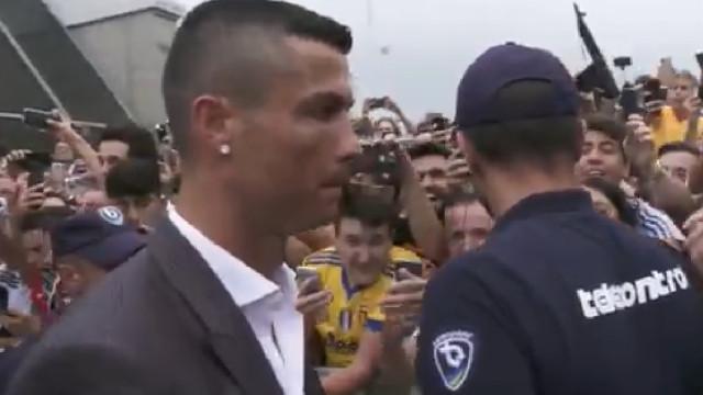 Adeptos da Juve já têm cântico para Ronaldo