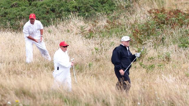 Agente secreto morre após visita de Trump a resort de golfe na Escócia