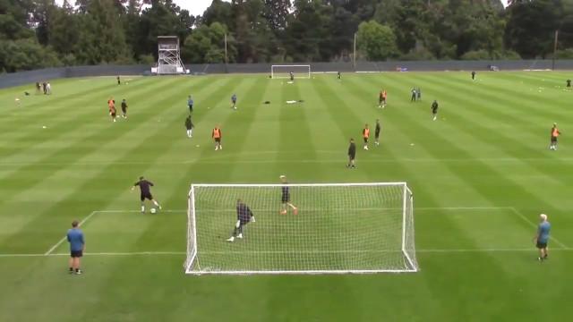Golaço de Ayoze Pérez no treino do Newcastle está a dar a volta ao mundo
