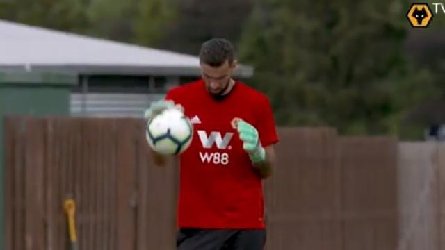 Wolverhampton 'levanta o véu' sobre o primeiro treino de Rui Patrício