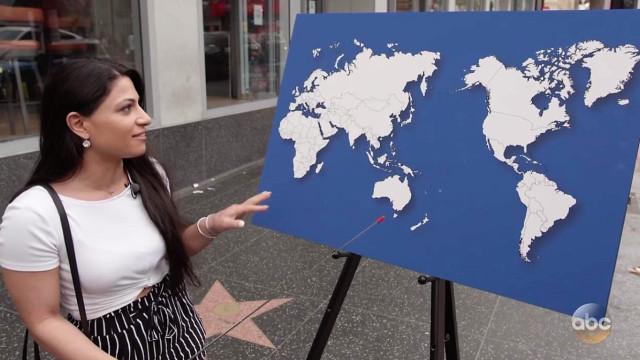 Pediram a alguns americanos para identificar países no mapa. Hilariante